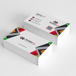 Nereus Creative Corporate Business Card Template