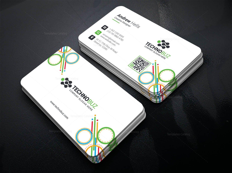 Notus Creative Corporate Business Card Template Template - Modern business card design templates