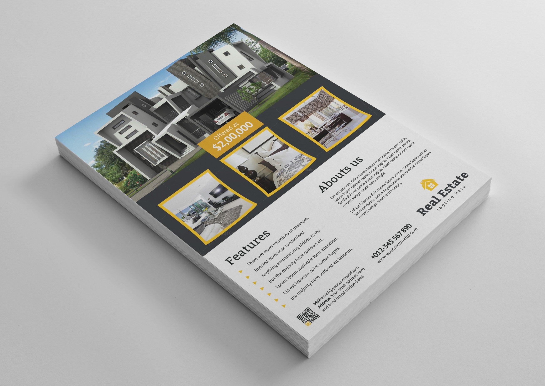 Open house real estate flyer design template 001483 template catalog open house real estate flyer design template maxwellsz