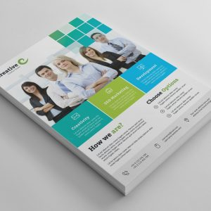 Oslo Clean Professional Business Flyer Template