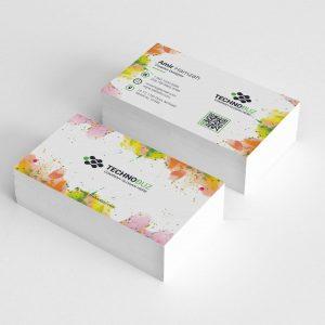 Paint Elegant Corporate Business Card Template