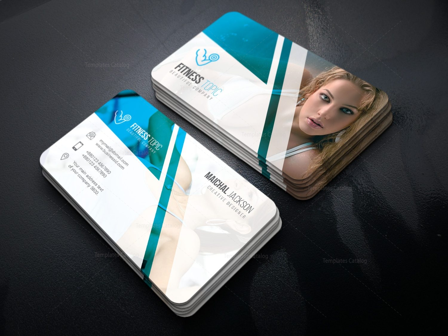 Photography versatile corporate business card template 001427 photography versatile corporate business card template 2 cheaphphosting Image collections