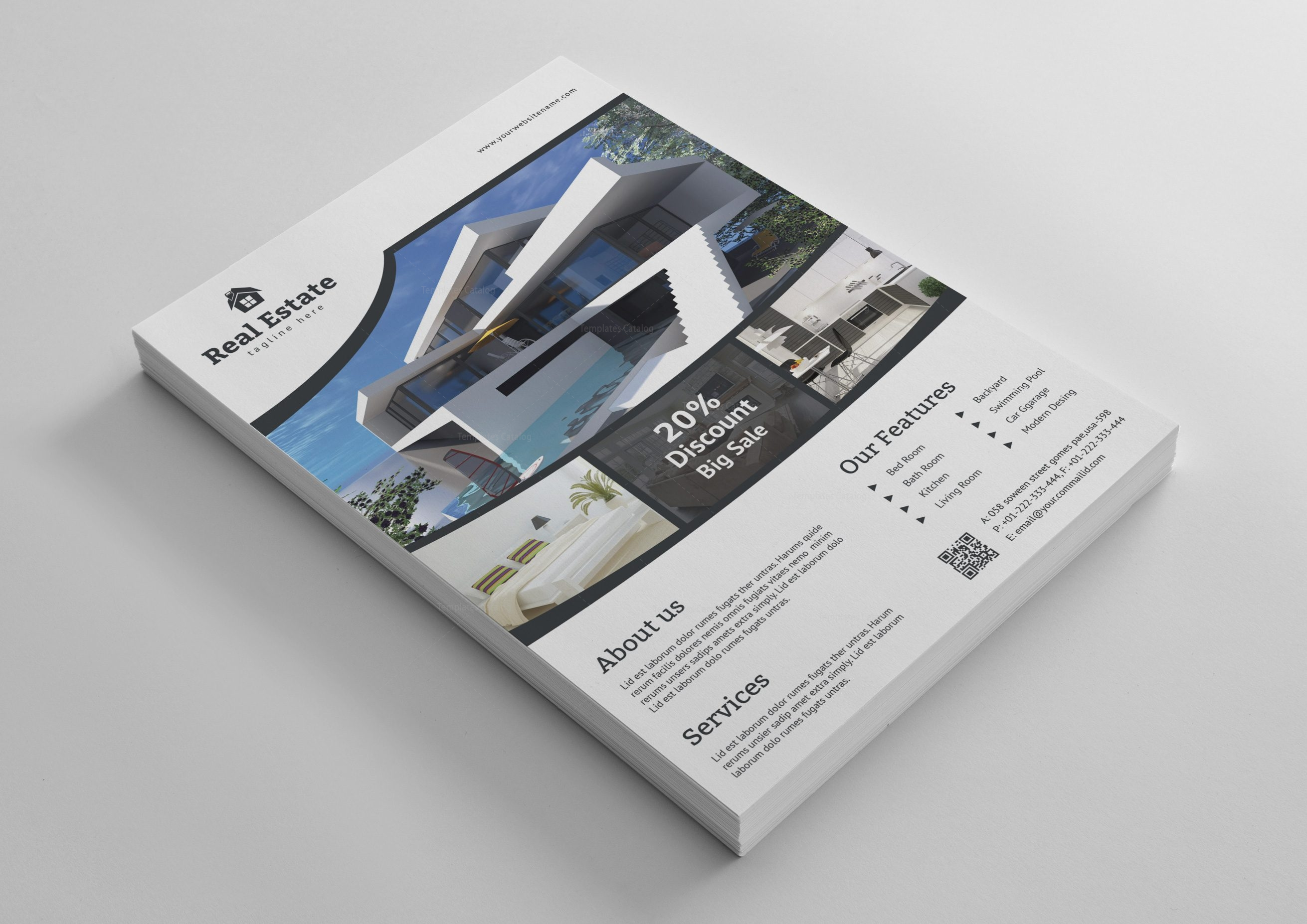 lovely real estate flyer template inspirational how to design a real