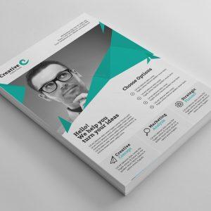 Sofia Stylish Professional Business Flyer Template