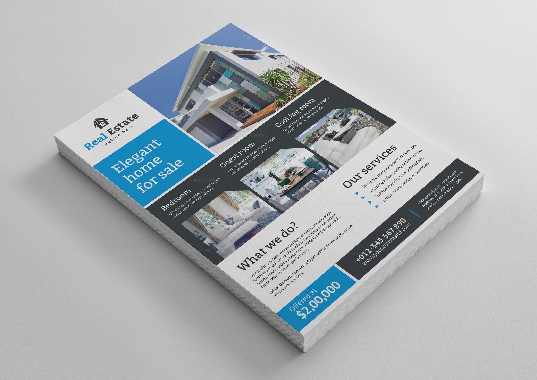 super real estate flyer design template 001482 template catalog