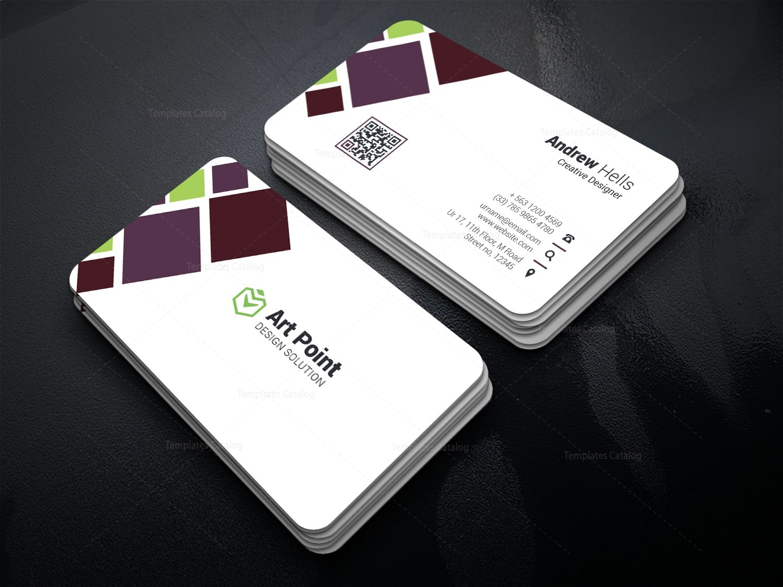 Texas Elegant Corporate Business Card Template Template - Psd business card template with bleed