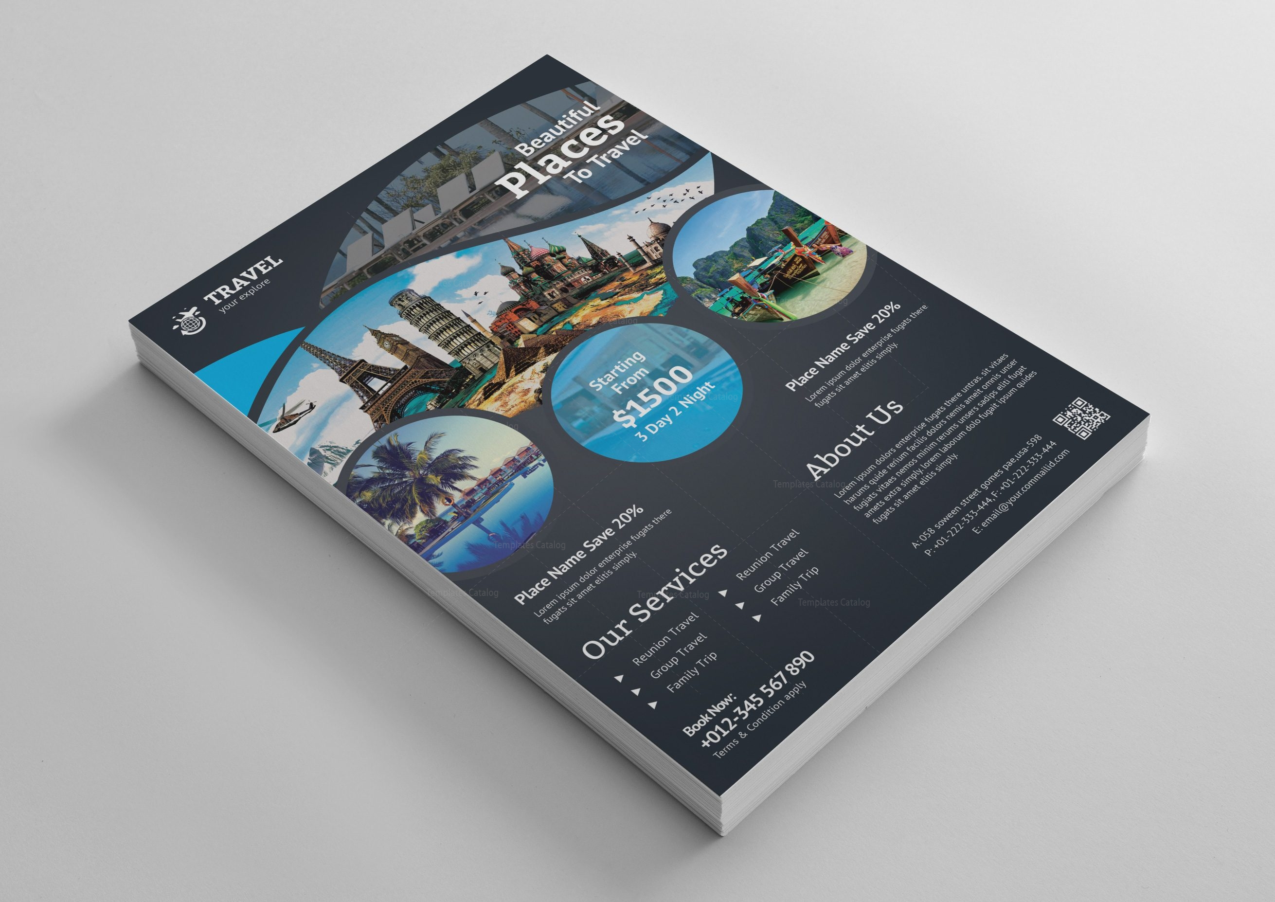 Travel Agent Flyer Templates Zrom