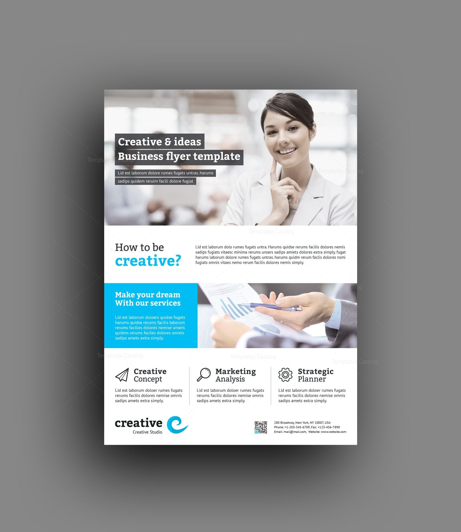 Vancouver Modern Professional Business Flyer Template 001400 ...