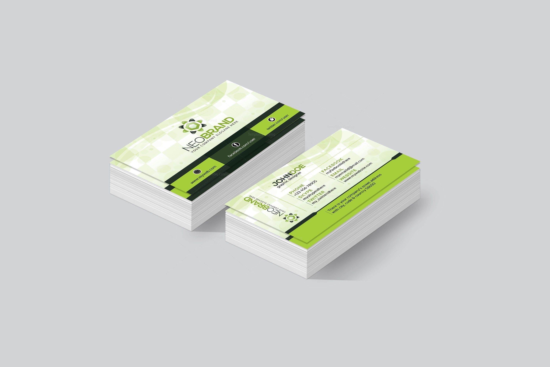 Zagreb Elegant Corporate Business Card Template 001439 - Template ...