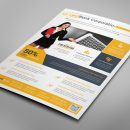 Alberta Professional Business Flyer Design Template 1