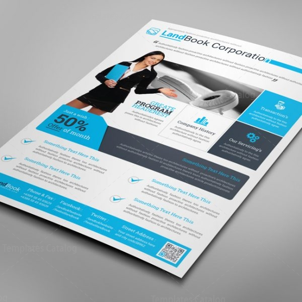 Alberta Professional Business Flyer Design Template 2