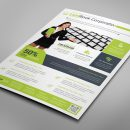 Alberta Professional Business Flyer Design Template 3
