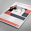 Alberta Professional Business Flyer Design Template 4