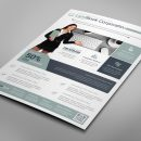 Alberta Professional Business Flyer Design Template 5