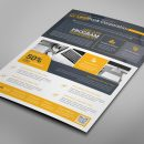 Alberta Professional Business Flyer Design Template 6