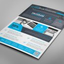Alberta Professional Business Flyer Design Template 7