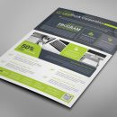 Alberta Professional Business Flyer Design Template 8