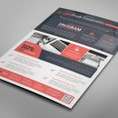 Alberta Professional Business Flyer Design Template 9