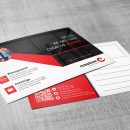 Ares Professional Corporate Postcard Template 4