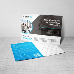 Artemis Creative Corporate Postcard Template