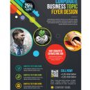 Athena Professional Business Flyer Design Template 1