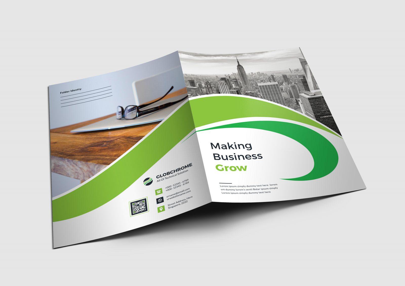 atlanta corporate presentation folder design template 001682