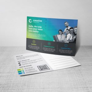 Atlas Creative Corporate Postcard Template