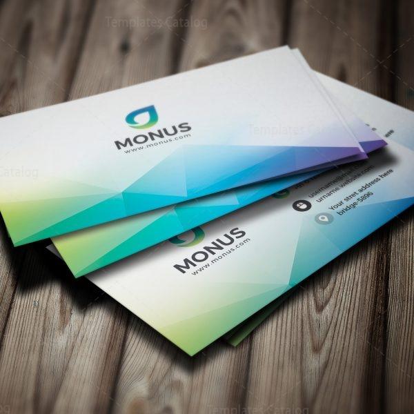 Aurora modern business card design template 001593 template catalog aurora modern business card design template 4 fbccfo Images