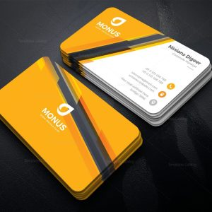 Awesome Corporate Business Card Design Template