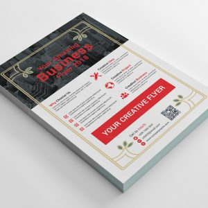 Barbados Stylish Business Flyer Design Template