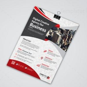 Brussels Creative Business Flyer Design Template