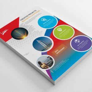 Carmen Creative Business Flyer Design Template