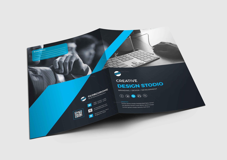 chicago corporate presentation folder design template 001680 template catalog. Black Bedroom Furniture Sets. Home Design Ideas