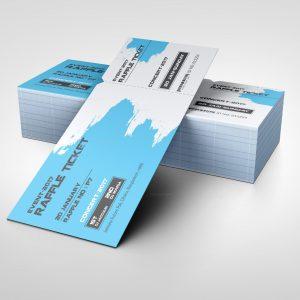 Concert Event Ticket Design Template