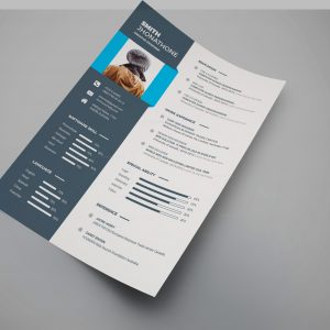 Dakota Professional Resume Design Template