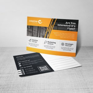 Demeter Stylish Creative Corporate Postcard Template