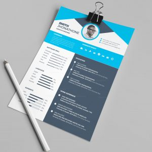 Detroit Professional Resume Design Template
