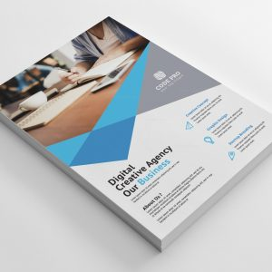 Dominica Stylish Business Flyer Design Template