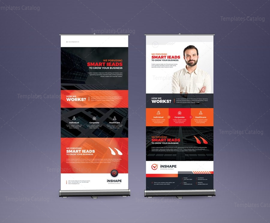 eps corporate roll up banner design template 001577 template catalog