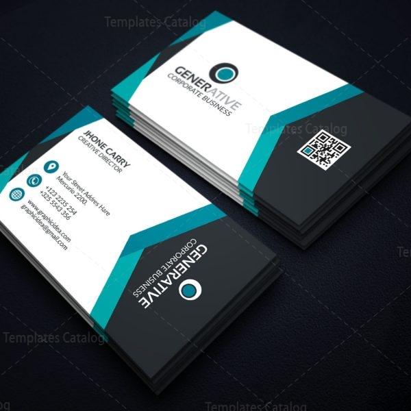 Eps modern business card design template 001595 template catalog eps modern business card design template 4 colourmoves Gallery
