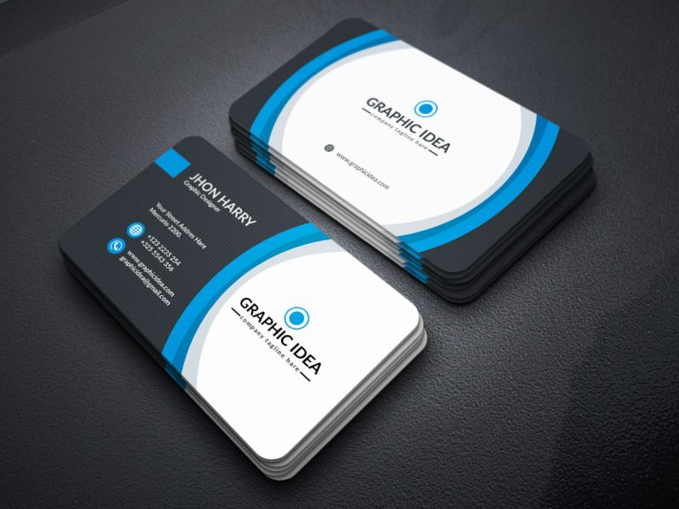EPS Premium Business Card Design Template 2