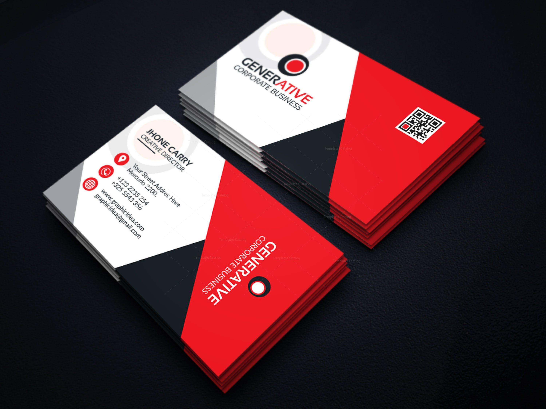 Eps sleek business card design template 001599 template catalog eps sleek business card design template 3 colourmoves