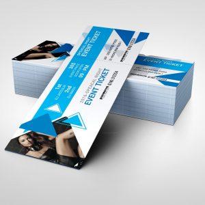 Elegant Event Ticket Design Template