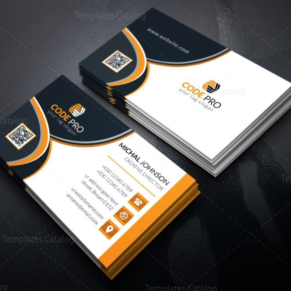 Fancy business card design template in eps format 001627 template fancy business card design template in eps format 1 colourmoves Gallery