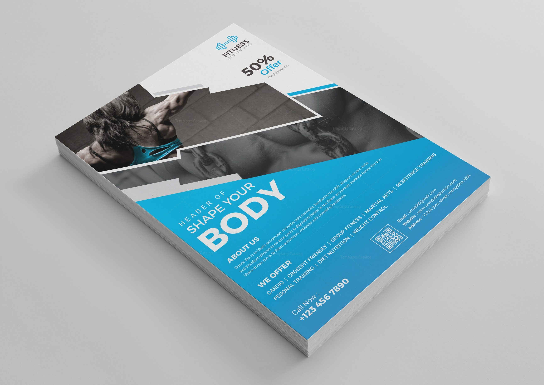 Fitness Flyer Design Template 001519 Template Catalog