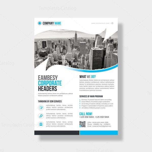 Florida Modern Business Flyer Design Template 4