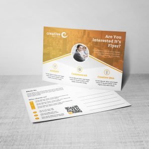 Hera Stylish Creative Corporate Postcard Template