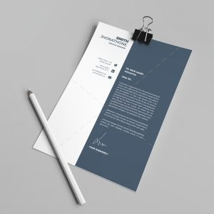 Houston Professional Resume Design Template