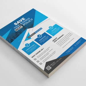 King Stylish Business Flyer Design Template
