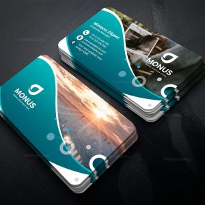 London Stylish Business Card Design Template